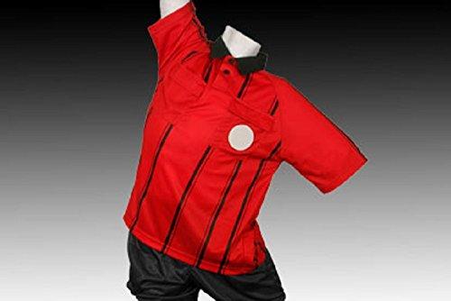 (Kwik Goal Referee Jersey Red Youth Medium)