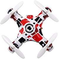 Owill E905B Mini Drone 2.4G 4CH 4-Axis RC Quadcopter With 0.3MP Camera/Headless Mode (White)