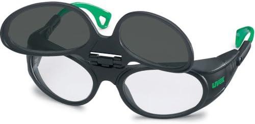 UVEX社 UVEX 二眼型遮光メガネ ウベックス 9104 遮光度#4 9104044
