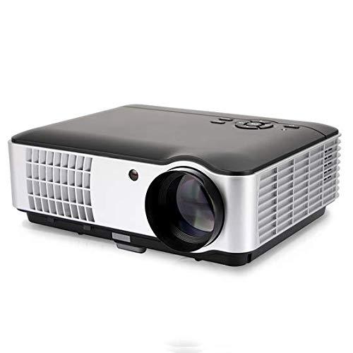 XUEM Proyector Full HD, 2800 Lúmenes 1080P Video 3D Educación De ...