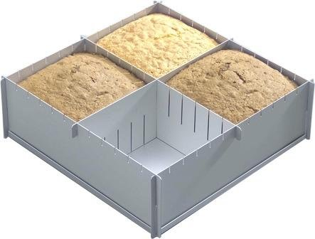 12 x 4 Deep Multisize Cake Pan by Silverwood