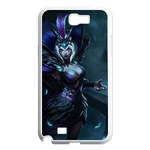 Samsung Galaxy N2 7100 Cell Phone Case White League of Legends Ravenborn LeBlanc Awaff
