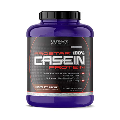 (Ultimate Nutrition Hydrolyzed and Micellar Casein Anti Catabolic Protein Powder - 2 In 1 Rapid and Slow Digestion Formula, 5 Pounds, Chocolate)