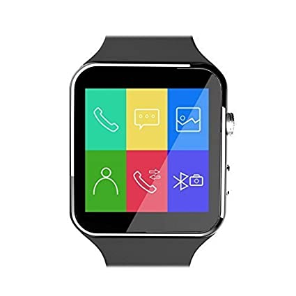 online store c4eca 5d8ac OM ENTERPRISE Curved Screen Bluetooth Wireless Smartwatch compatible with  Apple iPhone X 256 gb