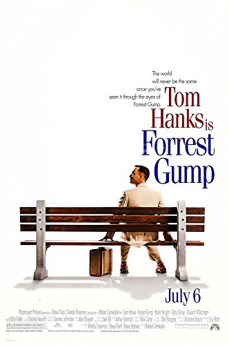Posters USA - Forest Gump Movie Poster GLOSSY FINISH) - MOV1