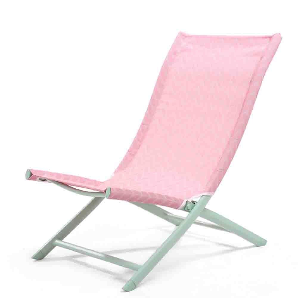 nuovo di marca KTYXGKL Semplice Sedia Pieghevole per Ufficio Sedia Sedia Sedia da Spiaggia Lazy Back Casa Balcone Casual Pausa Pranzo Sedia Sedia Pieghevole (colore   rosa)  classico senza tempo