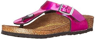 Birkenstock Gizeh Kinder Flip Flops, Pink (Mirror Pink