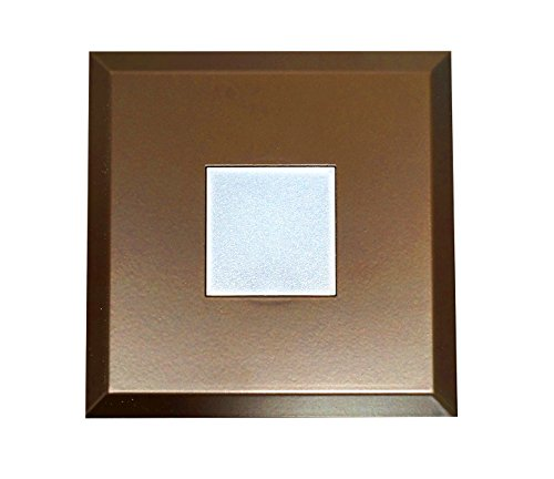 NICOR Lighting DLF SureFit Series Square Trim Plate, Oil-Rubbed Bronze (DLF-10-TRIM-SQ-OB) by NICOR Lighting