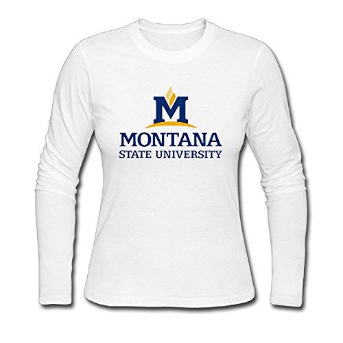 Tianzun16 Montana State University Adult Hoodies Teeshirts Magical 100% Cotton ()
