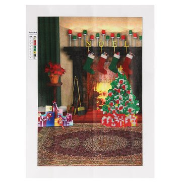Arts, Crafts & Sewing - 30x40cm Merry Christmas 5d Diamond Painting Embroidery Diy Craft Cross Stitch Art Home Decor - 1PCs