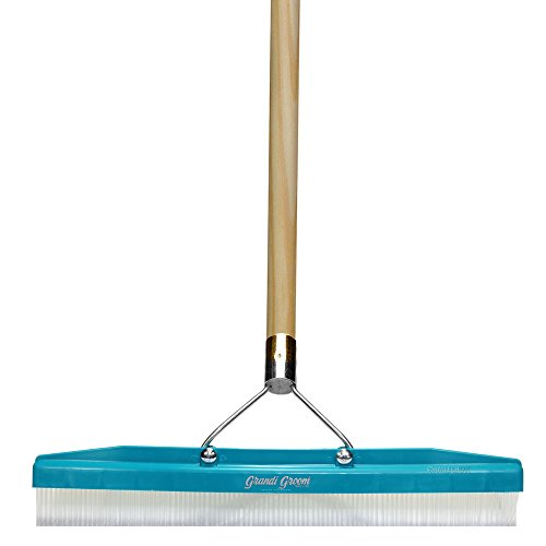 Grandi Groom AB24 Carpet Rake, 18-Inch Head, 54-Inch Handle, Blue ()