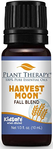 Plant Therapy Harvest Moon Fall Blend 10 mL (1/3 oz) 100% Pure, Undiluted, Therapeutic Grade