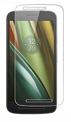 Tempered Glass for Motorola Moto E3 Power plus Mobilia USB Data Cable & OTG Cable