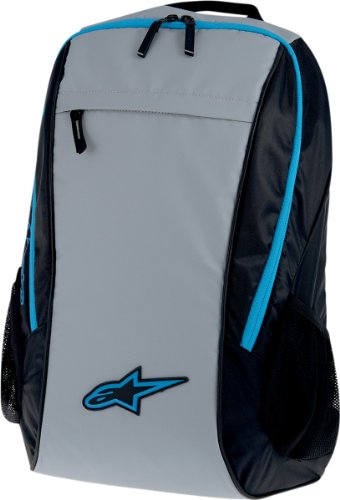 Alpinestars Lite Backpacks 2014, Black/Gray/Blue, One Size Motorcycle Street