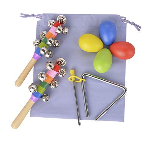 TSLIKANDO Maracas Percussion Triangle Instruments