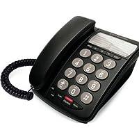 DTI Telcom DTI-DTP210BLK Corded Desk Phone, Black