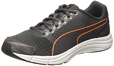 PUMA Men's Neutron IDP Asphalt-Vibrant Orange Black Running Shoes-6 UK/India (39 EU) (4060979816305)