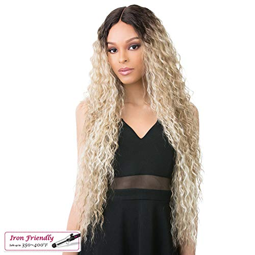 (It's a wig Synthetic Full Wig - VALENCIA - TTP4/CHAMPAGNE)