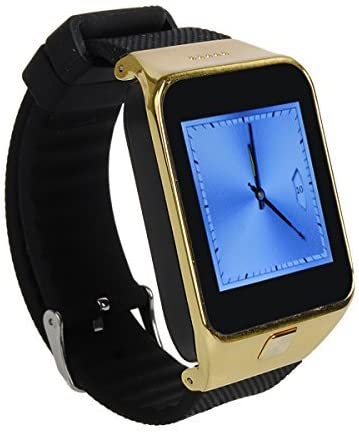 Amazon.com: HAMSWAN Smart Bluetooth Watch 1.54-inch MTK6260 ...