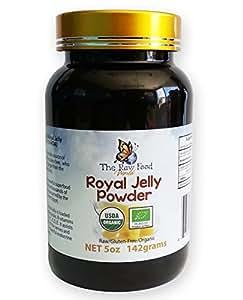 Organic Royal Jelly Powder, 5oz - 6.1% 10-HDA