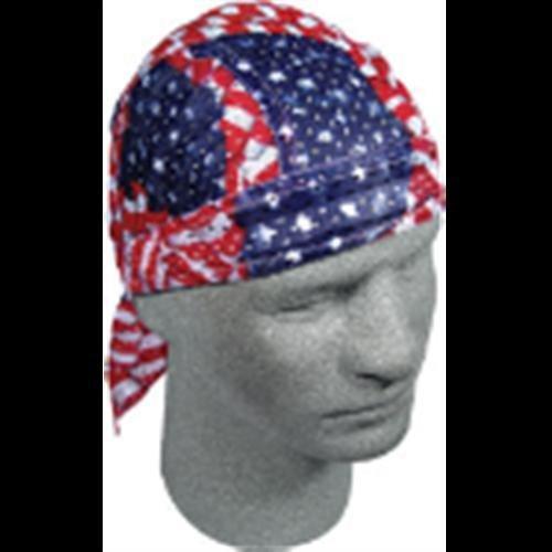 Zan Headgear Vented Flydanna Wavy American Flag OSFM