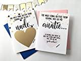 Will You Be My Godmother and Godfather Scratch Off Card Set of 2