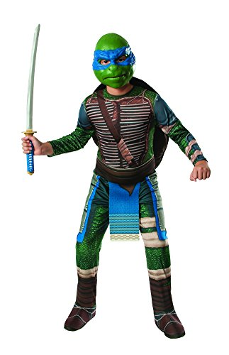 Cool Teenage Girl Halloween Costumes (Rubies Teenage Mutant Ninja Turtles Child Leonardo Costume, Medium)