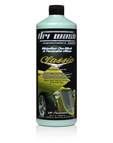 Case of DRI WASH 'n GUARD 32oz Classic Waterless Car Wash and Protective Glaze