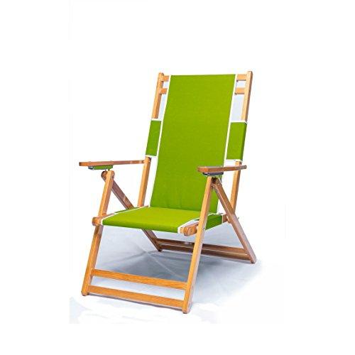 Frankford Umbrella Commercial Oak Wood Beach Chairs (Chair Pistachio)