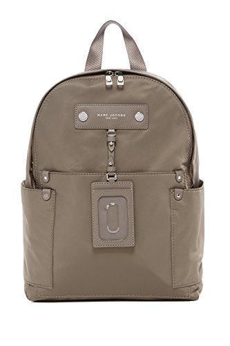 Marc Jacobs Preppy Nylon Backpack (Quartz Grey) by Marc Jacobs