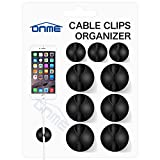 Cable Clips, ONME 6 Pack Cable Holder Multipurpose