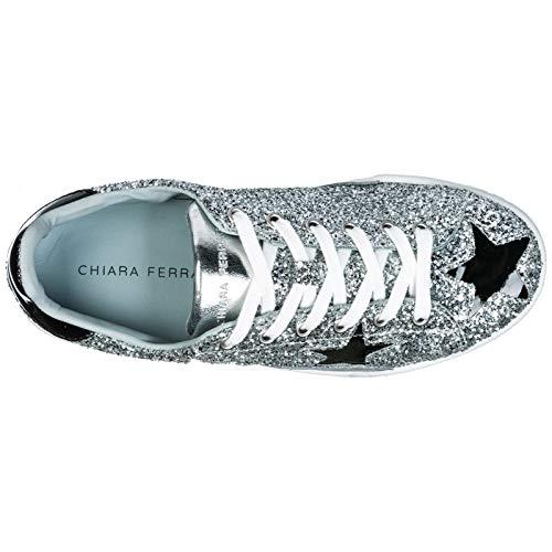 Ferragni Silver Chiara Sneakers Donna black 0xqO4P