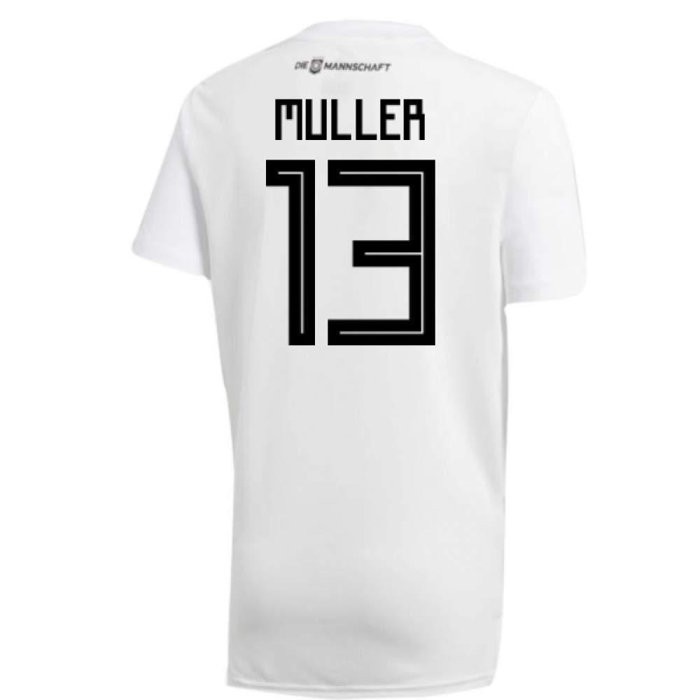 2018-19 Germany Home Training Football Soccer T-Shirt Trikot (Thomas Muller 13)