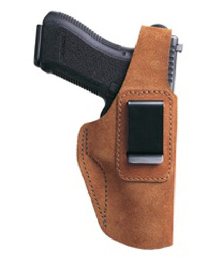 Bianchi Gun Leather 6D ATB Waistband Glock 26 27 Hip Holster (Right Hand, Size:10A)