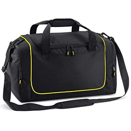 Quadra locker in bag teamwear piping Black Quadra teamwear Yellow ZUgnxUT
