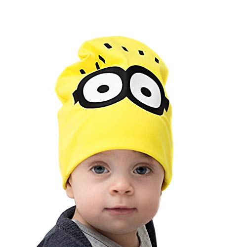 Tourmania Minion Hat for Baby Kids Girls and Boys 1-6 Years Yellow ()