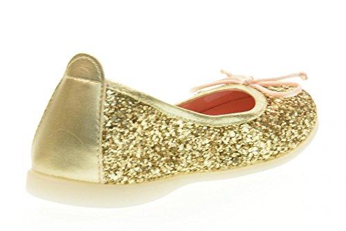 GIOSEPPO zapatos de la muchacha los zapatos de ballet 39619-46 Celinda Oro