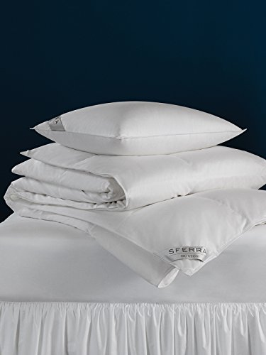 Buxton by Sferra - Queen Pillow 20x30 20 Oz Med (White) by Sferra