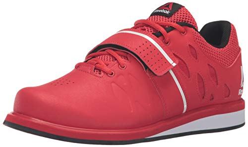Reebok Men's Lifter Pr Cross-Trainer Shoe, Primal Red/Black/White, 14 M US (Best Sneakers For Weightlifting)