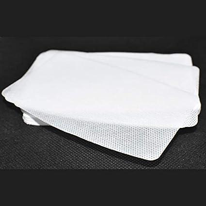 Filtro TNT Mediano para mascarilla 12x8cm. Muy transpirable, hidrófugo. 50 capas de tejido no tejido de 70gr
