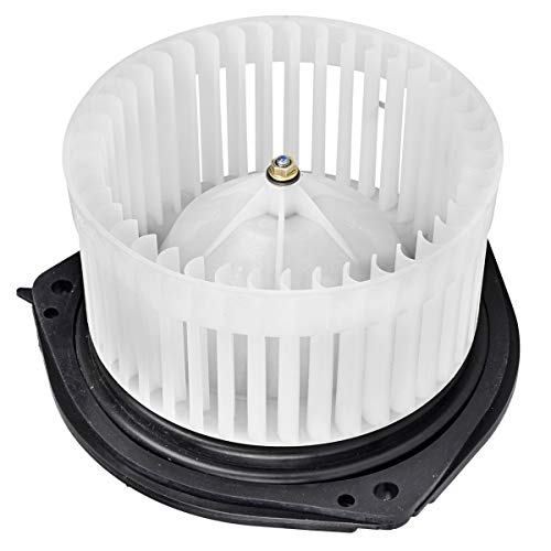 (FAERSI HVAC Plastic Heater Blower Motor with Fan Cage Replaces #89018521fit for 2002-2005 Buick LeSabre/2002-2005 Cadillac DeVille/2003-2004 Cadillac Seville/2002-2005 Pontiac Bonneville /2002-2003 Ol)