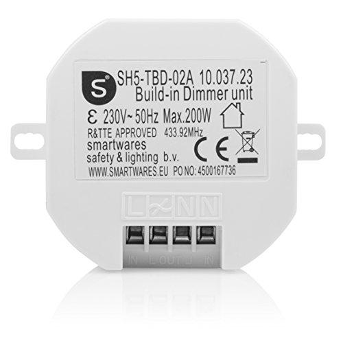 Smartwares SmartHome Funk-Einbauschalter 1000 W, SH5-RBS-10A: Amazon ...