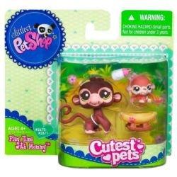 Littlest Pet Shop Cutest Pets Series 2 Figures Mommy Baby - And Mommy Baby Shop Littlest