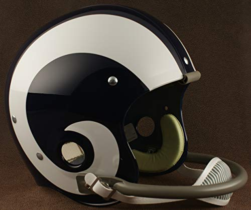 Riddell Los Angeles RAMS 1964-1972 NFL Authentic Throwback Football Helmet