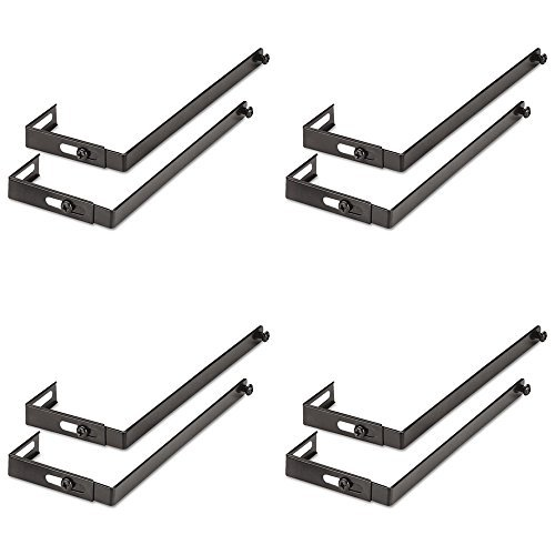 UNV08173 - Universal Adjustable Cubicle Hangers, 4 Packs