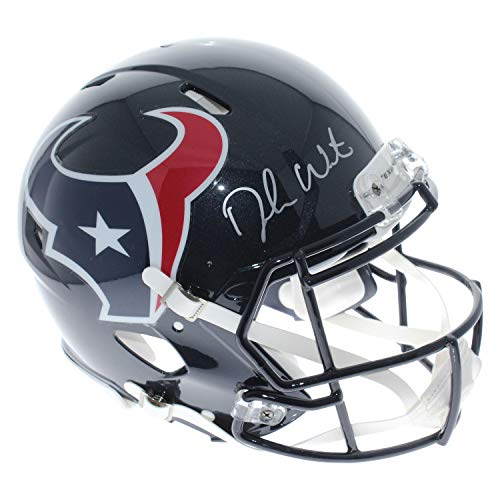 Deshaun Watson Autographed Signed Houston Texans Riddell Full Size Speed Revolution Helmet - Beckett