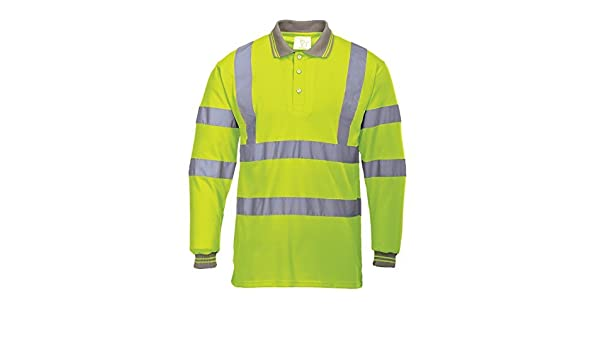 Portwest S277?Hi-Vis Polo L/S, S277YERXXXL by Portwest: Amazon.es ...