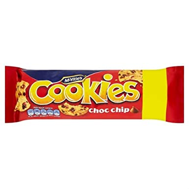 McVitie's Cookies Choc Chip Biscuits 150g Case of 12