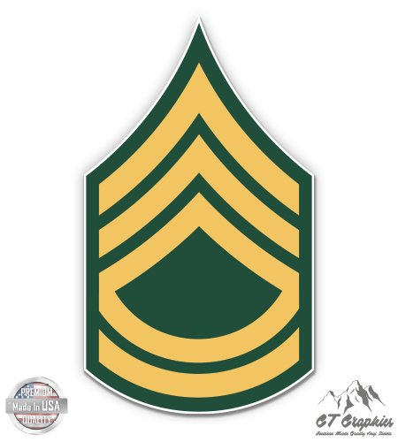 - US Army Sergeant First Class Rank - 5