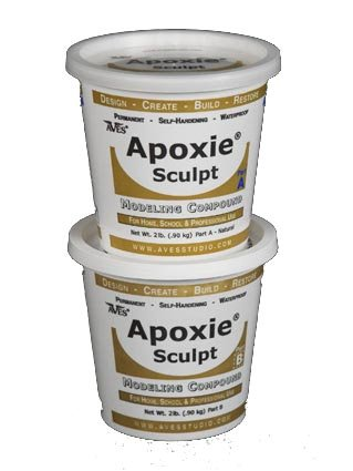 Apoxie Sculpt 4 Lb. Epoxy Clay - Red by Aves